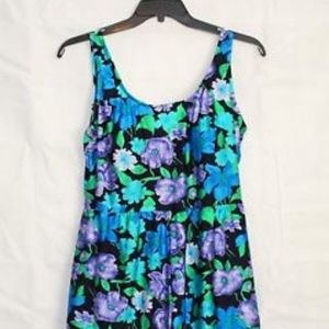 NWT Blair One-Piece Floral Swimsuit 20 S239